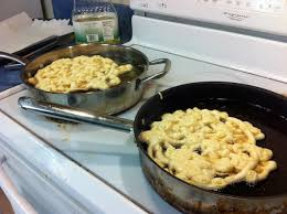 no time to cry over spilt milk time to make funnel cakes a
