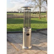 Patio Gas Heaters by Santorini Mini Flame Gas Patio Heater Free Weather Cover