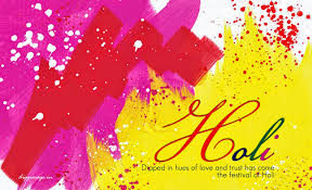 dipped in hues of love and trust has come the festival of holi d