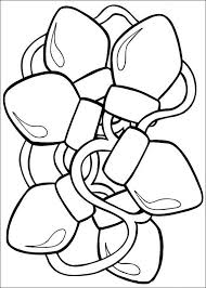 christmas lights coloring pages kids coloringstar