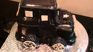 car jeep cake youtube