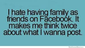 Download Memes For Facebook - i hate having family as friends on facebook weknowmemes