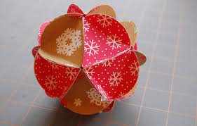 hello wonderful how to make a paper ornament