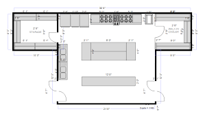 kitchen floor plans simple how to draw a kitchen floor plan plans typical apartment