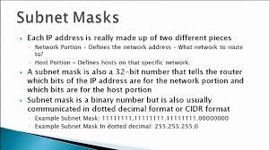 subnetting tutorial for beginners ip address subnet mask basics youtube