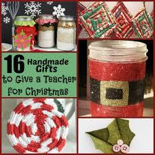 16 handmade gifts to give a teacher for christmas christmas