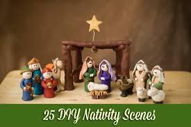 25 diy nativity