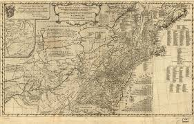 Map Of New England Colonies by 1775 To 1779 Pennsylvania Maps