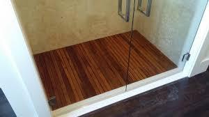 custom projects caribbean teak teak shower floor