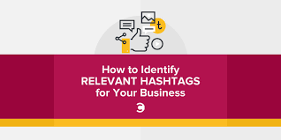 how to identify relevant hashtags for your business