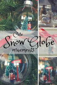 how to make snow globe ornaments upgrade