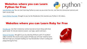 Video Tutorials Websites 50 Websites Where You Can Learn Coding And Programming For Free