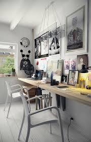 plan de travail bureau 42 idées déco de bureau pour votre loft
