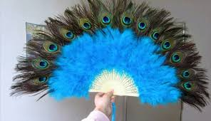 peacock fan bellydance peacock fans peacock feather fans for belly