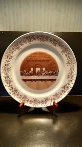 lord s supper plates vintage lord s supper decorative plate mfg co edition l23k