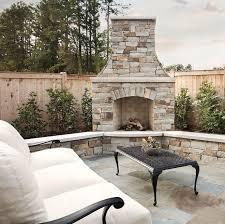 Outdoor Fireplace Patio Designs Design Backyard Fireplace Best 25 Ideas On Pinterest