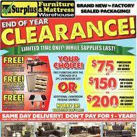 Surplus Furniture Kitchener Surplus Furniture Flyer Kitchener On Redflagdeals Com