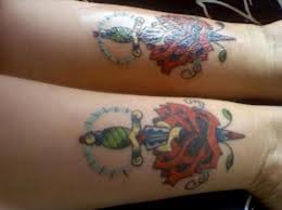 awesome best friend matching tattoos matching best friend tattoos
