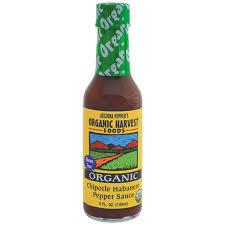 organic hot sauce organic harvest gluten free chipotle habanero pepper sauce az