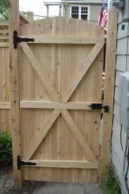 backyard door security home outdoor decoration
