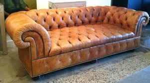Tufted Leather Sofa Bed Luxurious Vintage Chesterfield Tufted Leather Sofa By Baker