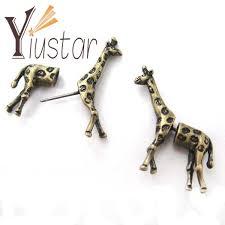 giraffe earrings popular giraffe earrings studs buy cheap giraffe earrings studs