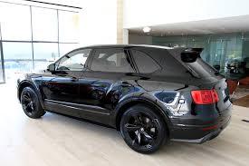 bentley bentayga 2016 black 2018 bentley bentayga w12 black edition stock 8n018676 for sale