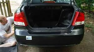 how to remove and install chevy aveo rear bumper cover part 1