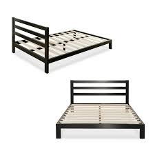 Cheap Queen Bed Frames And Headboards Amazon Com Zinus Modern Studio 10 Inch Platform 2000h Metal Bed