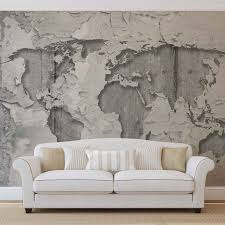 world map concrete texture photo wallpaper mural 2819wm world map concrete texture photo wallpaper mural 2819wm