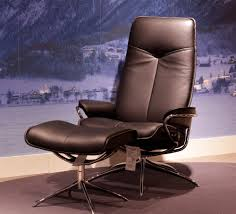 Black Leather Recliner Chairs Stressless City High Back Paloma Black Leather By Ekornes
