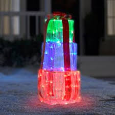lighted animated penguin decoration outdoor decoration