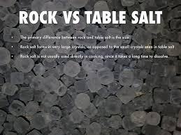 what s the difference between table salt and sea salt ice cream by troyal hopkins