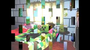 photo collection minecraft bedroom wallpaper2