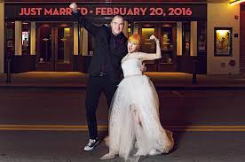 hayley bridal hayley williams and chad gilbert wedding photos billboard
