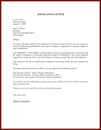 teaching resume writing high students cover letter sample