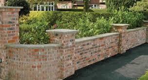 chic brick garden wall designs brick garden wall designs alices