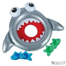 shark bean bag toss game