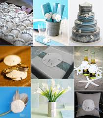 beach wedding ideas sand dollar and seahorse wedding flowers