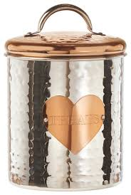amici pet rosie treats canister contemporary kitchen canisters