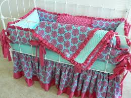 Nursery Bedding For Girls Modern by 47 Best Pink And Turquoise Baby Bedding Sets Images On Pinterest