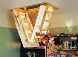 attic ladders types and design features stair case design