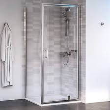 800 Shower Door Aqualux Edge 6 Square Shower Enclosure Lh Rh Polished Silver 800 X