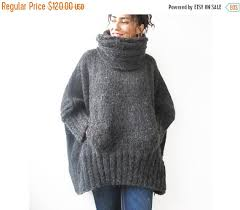 winter sale 20 gray knitted sweater with by afra