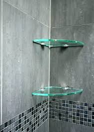 Glass Shelves For Bathrooms Lovely Shower Corner Shelf Tile Shower Tile Shelves Tiles White