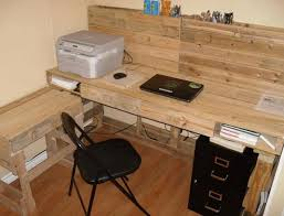 Diy Pallet Wood Distressed Table Computer Desk 101 Pallets by Pallet Computer Desks Wood Computer Desk Pallets And Pallet Wood