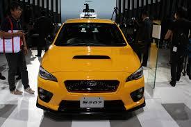 subaru yellow 2016 subaru impreza wrx sti s207 supercars net