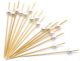 amazon com putwo cocktail picks toothpicks handmade bamboo picks