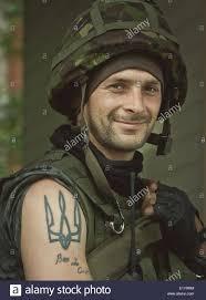 donbas donetsk ukraine 10th june 2014 national guard soldier
