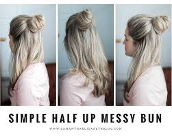 simple hairstyles with one elastic simple 2 minute hairstyles samantha elizabeth